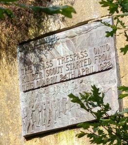 Plaque - Mass Trespass
