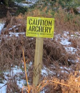 Bryn York Estate archery