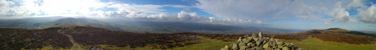 View from Foel Fenlli