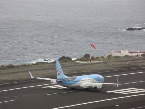 737 Aircraft La Palma airport