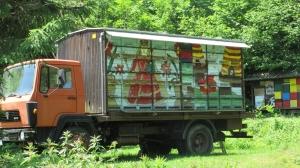 Mobile Slovenian bee hive