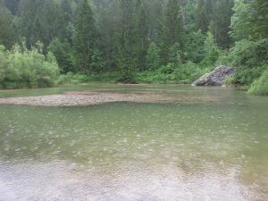 Lake near Ribno, Slovenia