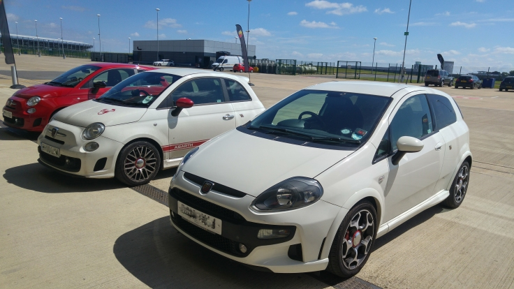 Abarth Punto and 500s
