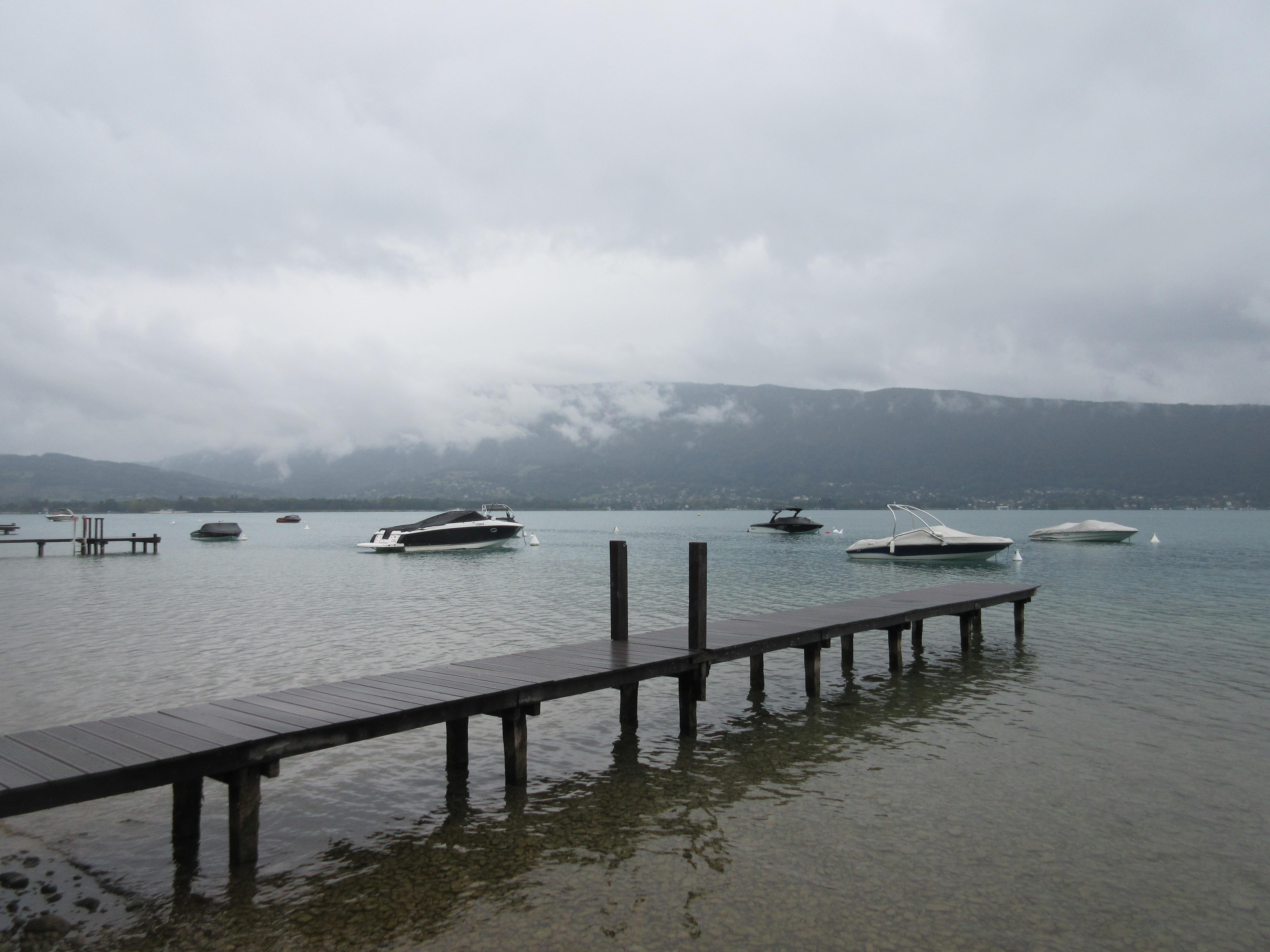 Lake Annecy shore