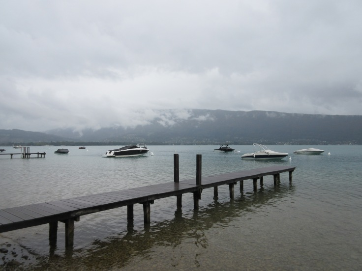 Lake Annecy shore