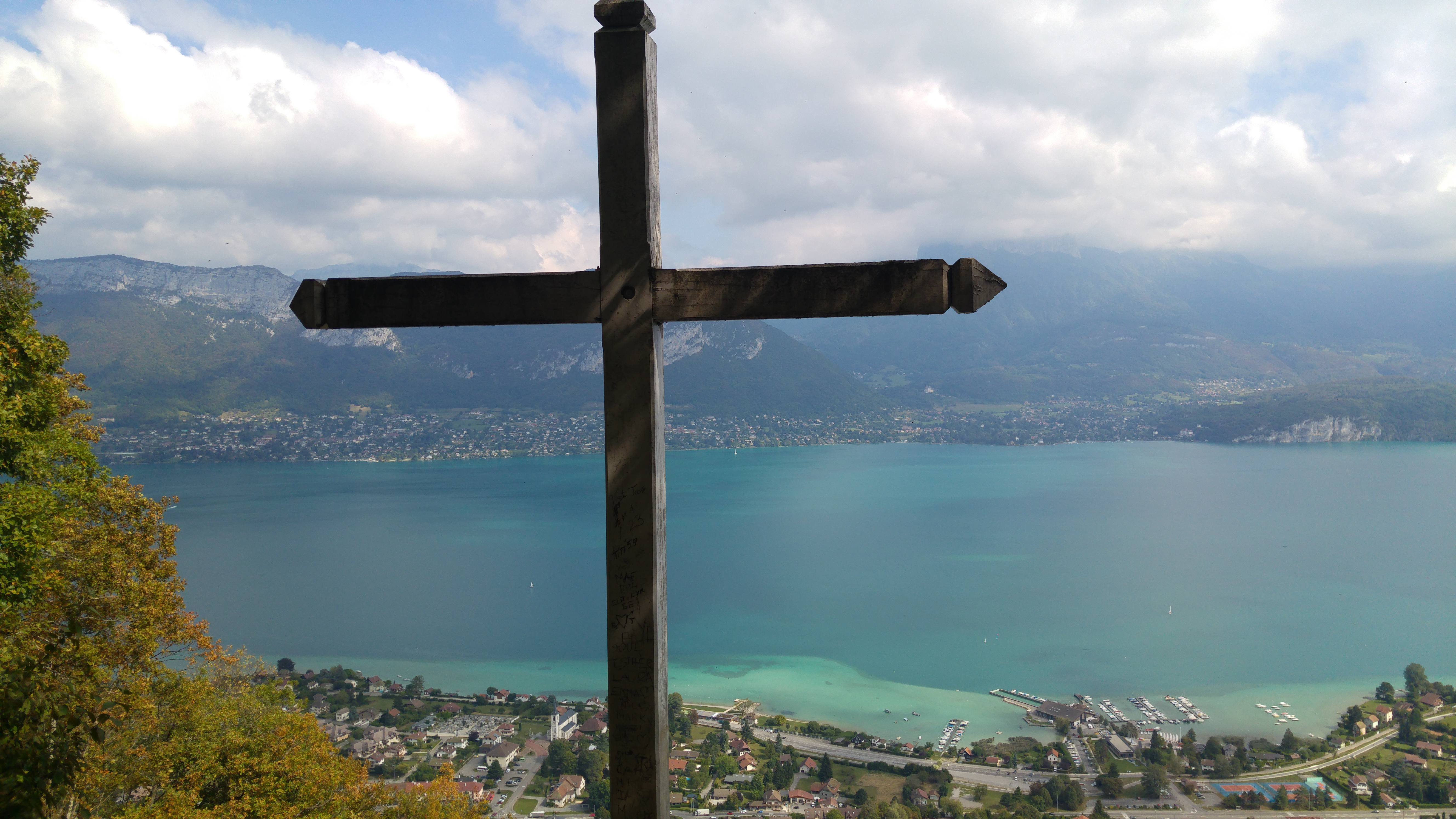 Views of lake Annecy
