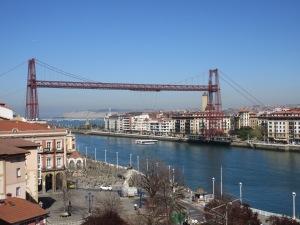Transporter bridge near Bilbao