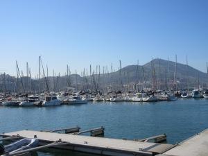 Port near Bilbao