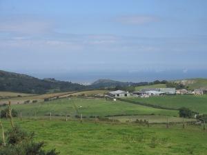 view from Mynydd y Cwm