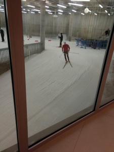 Indoor cross country skiing