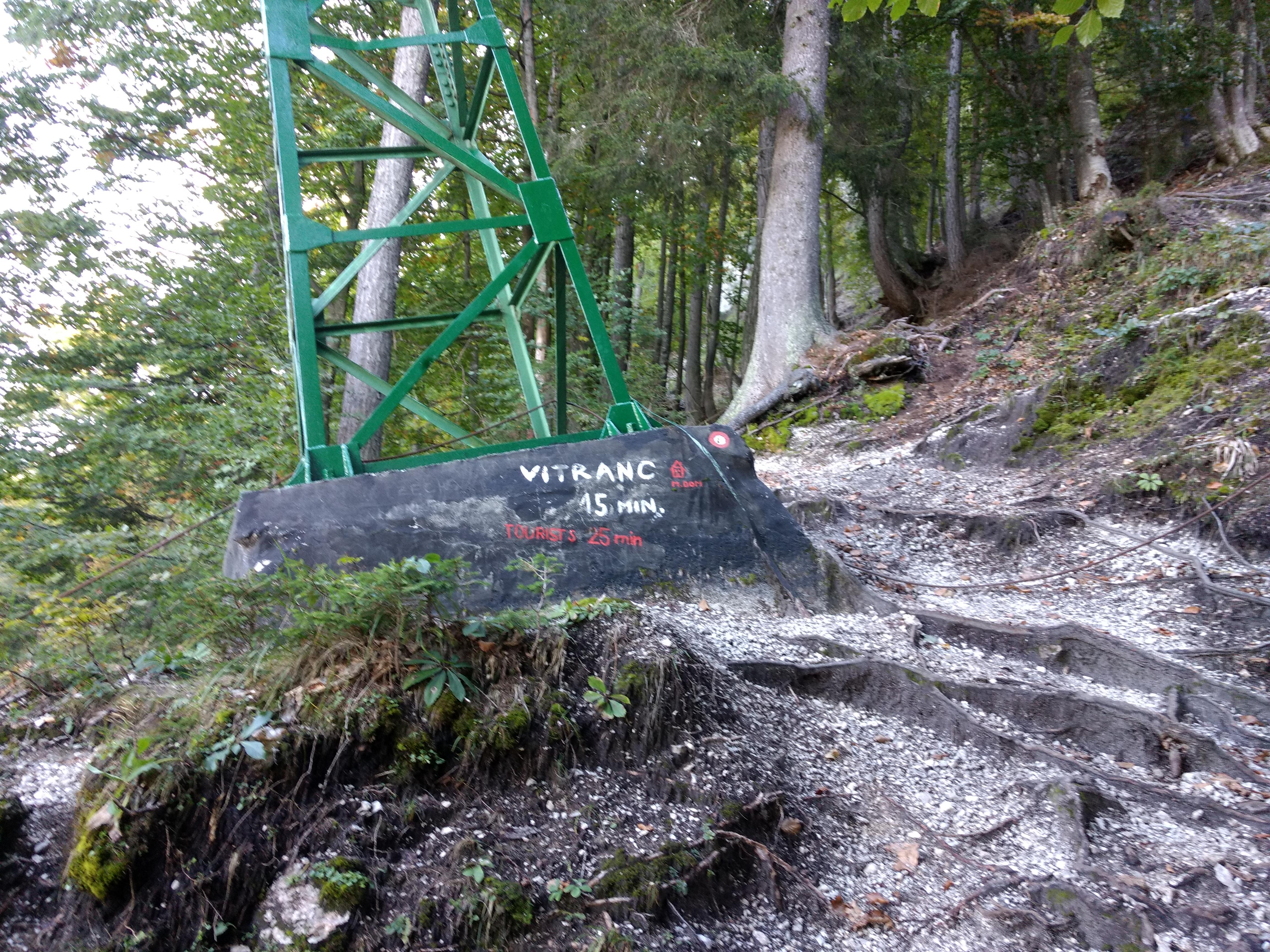 Sign to Vitranc