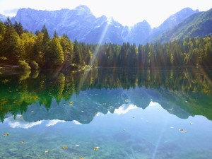 Lago di Fusine Inferiore Lake Italy