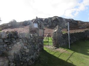 Start of footpath, Conwy