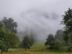 Clouds over Kranjska Gora