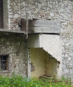 Old Slovenian farm house