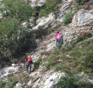via Ferrata near Kranjska Gora Slovenia
