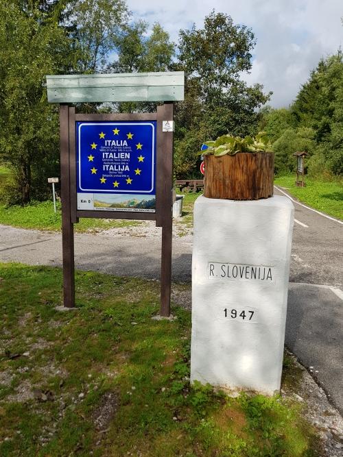 Italy Slovenia border
