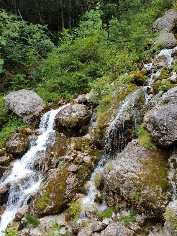 Waterfall near Planica, Kranjska Gora