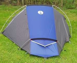 Coleman Cobra 2 tent in Hulme End campsite