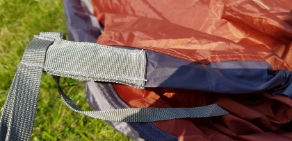 Attaching Robens tent poles
