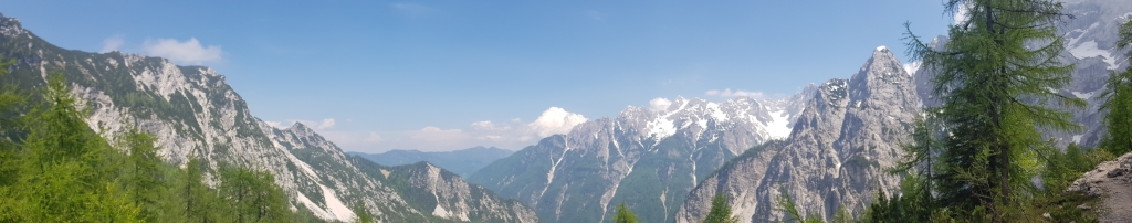 View from Vrisc pass, Slovenia
