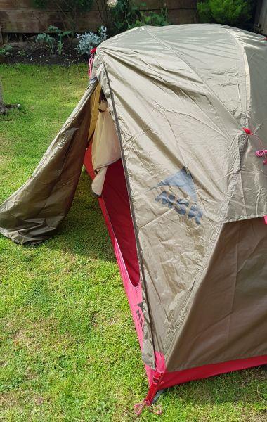 Green MSR Elixir 1 tent