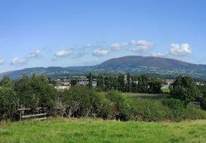 View on walk from Denbigh